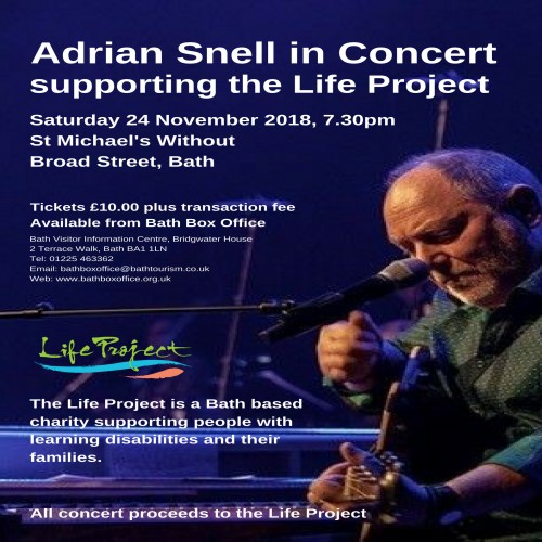 Adrian Snell in concert